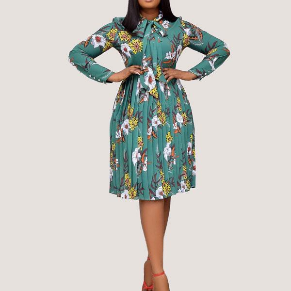 Mint-Print-Bowtie-Dress-1