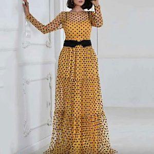 Mesh Two Piece Maxi Dress - STL Fashion House