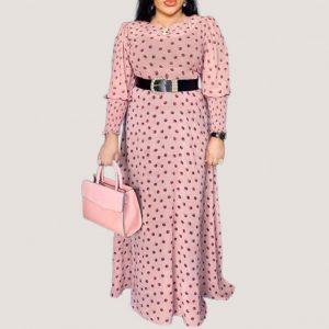 Chiffon Two Piece Maxi Dress - STL Fashion House