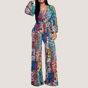 Layla Long Sleeve Jumpsuit - STL Fashion House