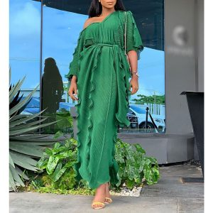 Nessa Dress with Belt - STL Fashion House