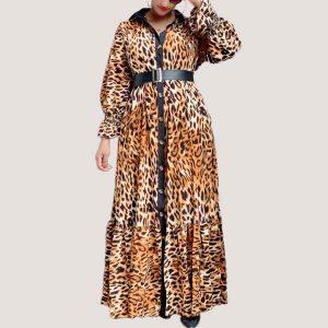 Talia Belted Maxi Dress - STL Fashion House